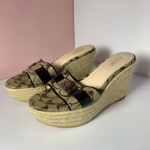 Coach Wedges